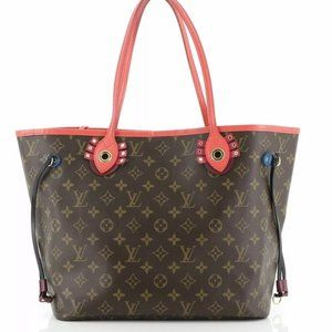 Louis Vuitton Neverfull Tote Limited Edition Totem